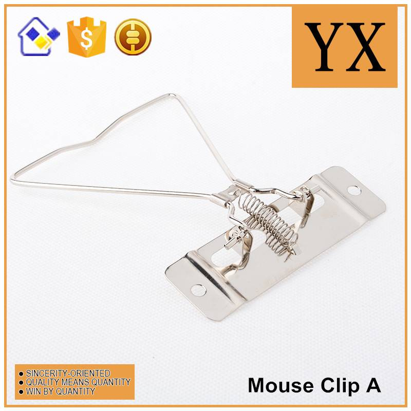 Fashion diary/planner metal binder mouse clips for file box best selling metal binder mouse clips