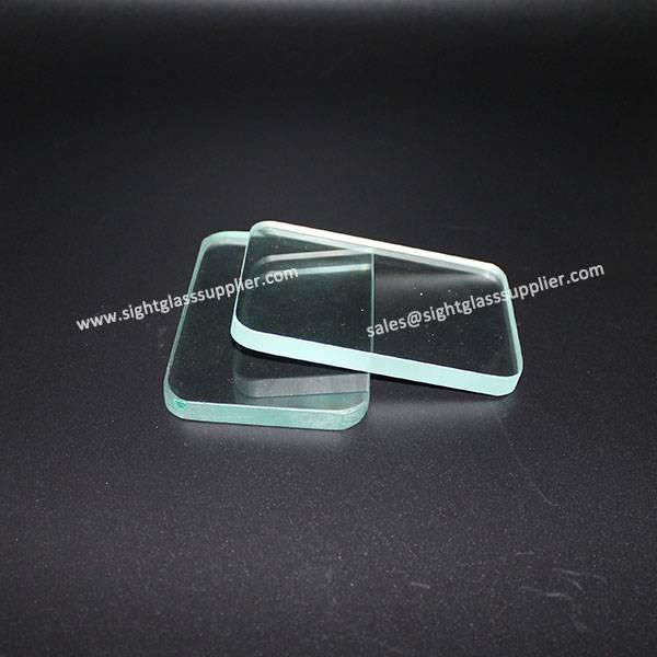 Thick Quartz Plate with High Quality Glass