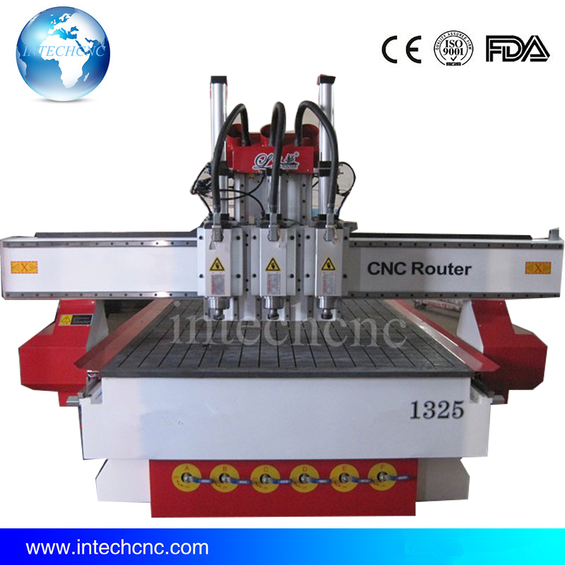 cheap three process LFM1325 cnc router motor and controller