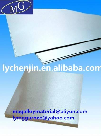 Magnesium Alloy Plate/Magnesium Alloy Sheet AZ31 AZ61 AZ91