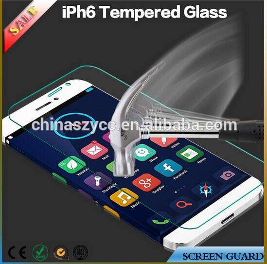 Axidi tempered glass screen protector for iPhone 6 screen protector with OEM package
