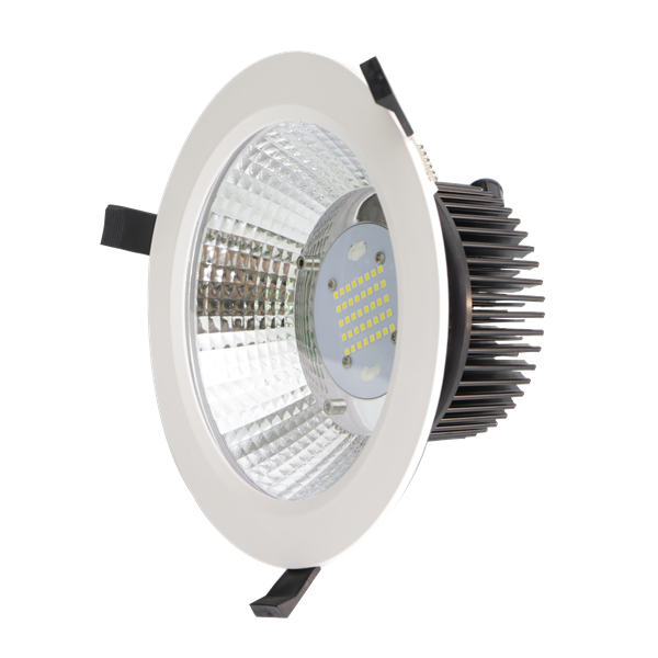 "circulair led downlight 6"" Round aperture 50W"