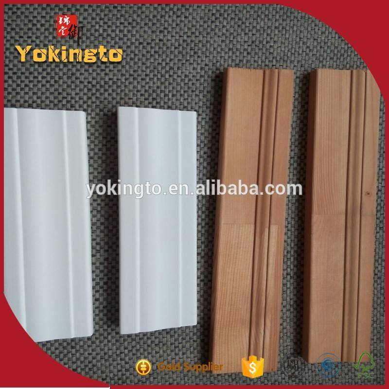 Wooden finger joint wood mouldings