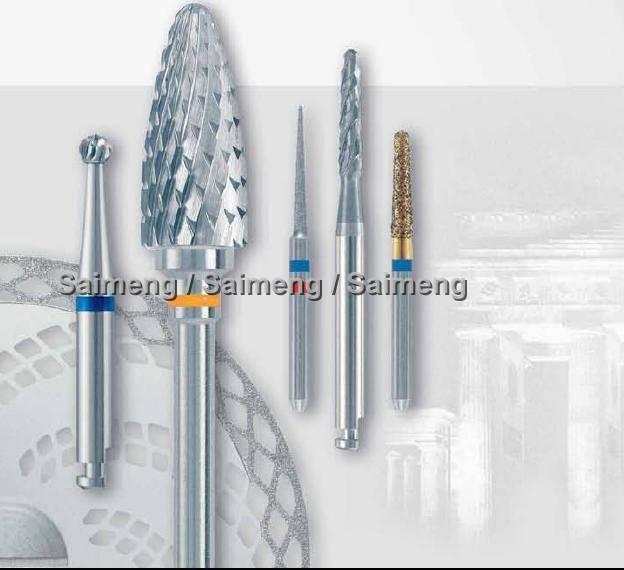 Dental diamond burs and FG burs and carbide burs