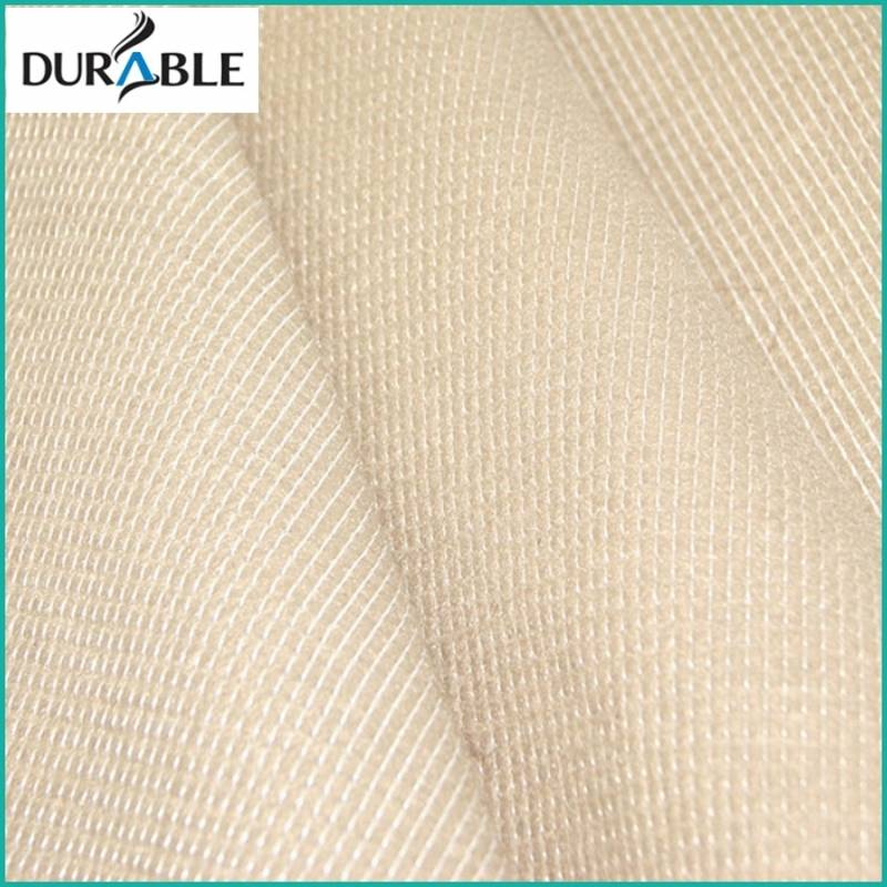 White and Black Stitch Bonded Nonwoven Fabric Shoe Interlining