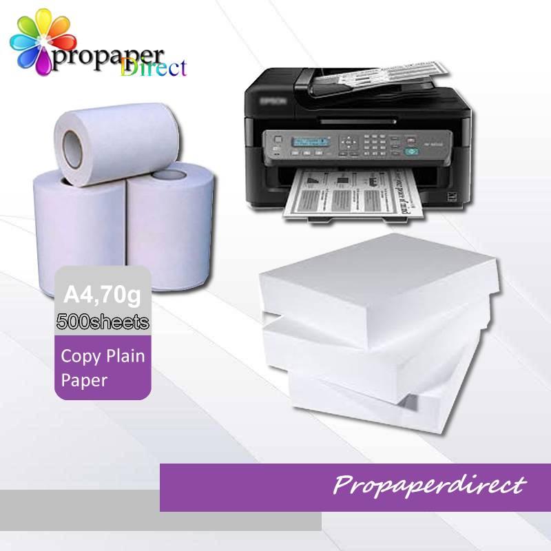 70g copy plain paper A4*500sheets