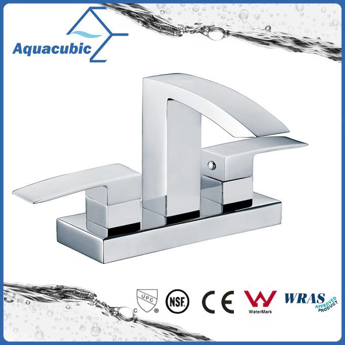 Modern family bathroom brass wash basin faucet (AF3052-6)