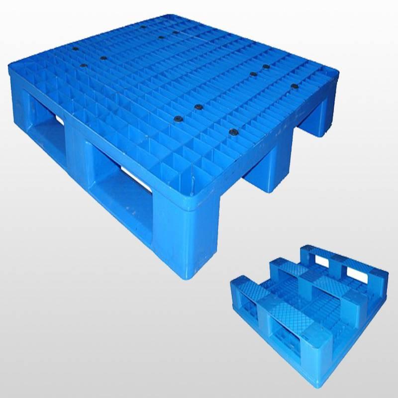 plastic pallet with 3 runners.Racking.Grid.1000*1000*150