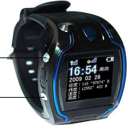Watch GPS Tracker (GPS 388)