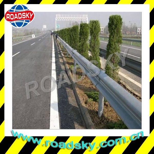 AASHTO M180 Galvanized Steel Thrie Beam Highway Guardrails