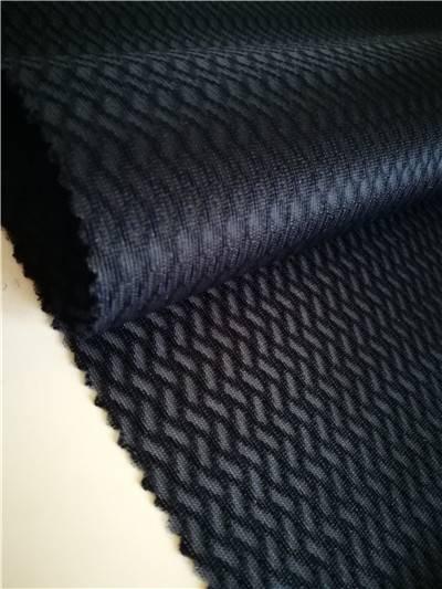 100% Polyester tricot bird eye elastic mesh fabric