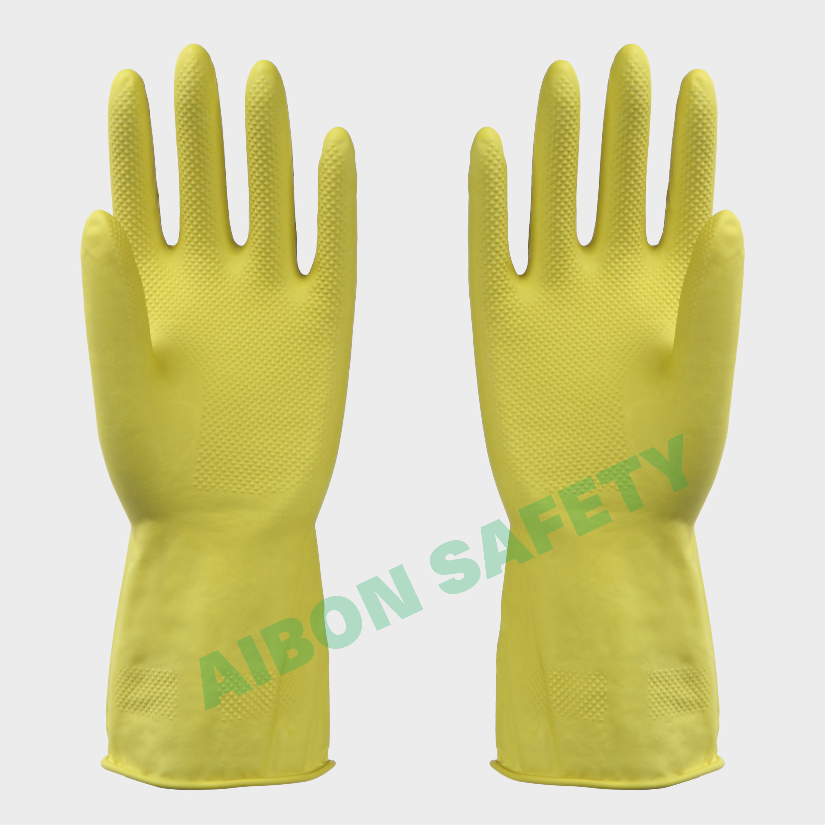 rubber safety hand glove