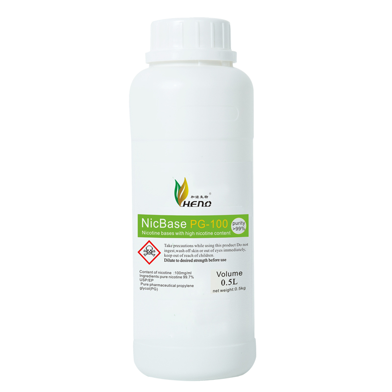 Diluted nicotine Nicbase nicotine base