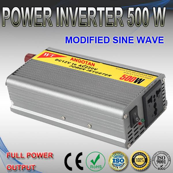 500W Modified Sine Wave Power Inverter with 220V AC Output
