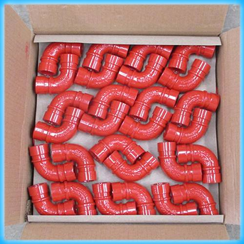 UL Listed, FM Approval Ductile Iron Grooved 90 Elbow