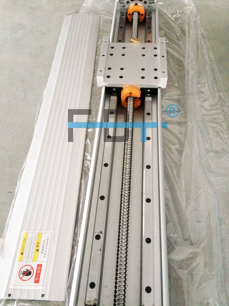 150mm Width Ballscrew Driven industrial robot arm, linear stage / module in china