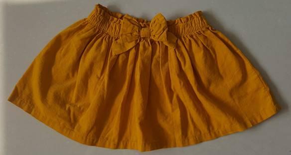 baby/kids cord skirt