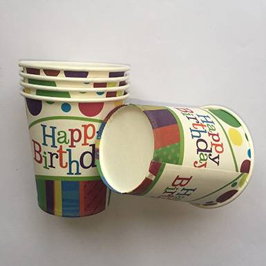 Wholesale The Colorful Happy Birthday Party Cups