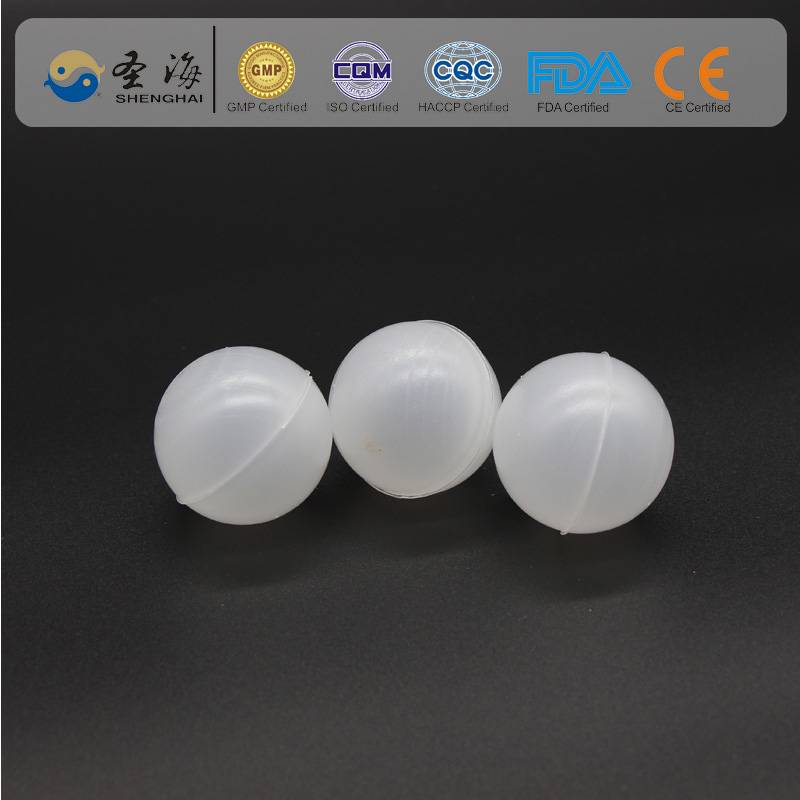 PP ( Polypropylene ) 60 mm shade ball for gas scrubber