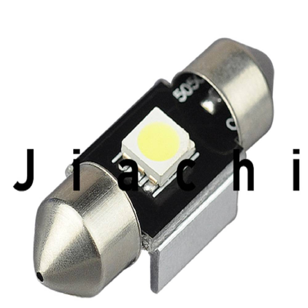 Super quality stylish 12volt auto festoon canbus light 5050 31mm car led lamp one year warranty