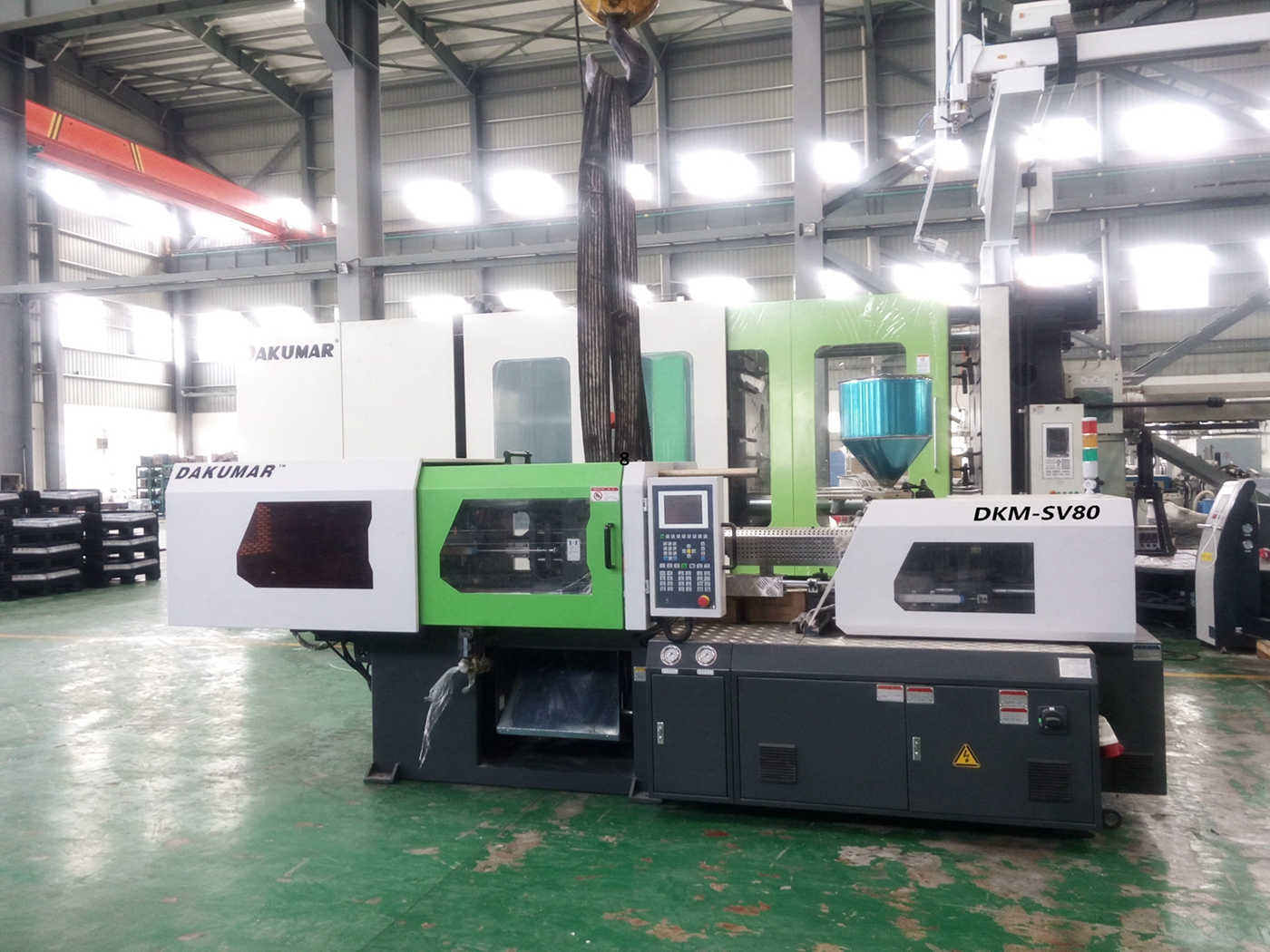 Small Plastic Injection Molding Machine 80tons DKM-80SV
