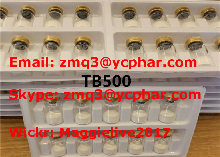 TB500 Injectable Anabolic Steroids Peptides Powder Thymosin Beta 4 Acetate