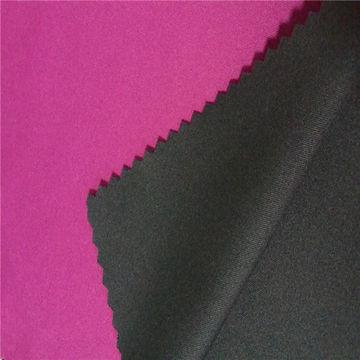 Softshell/polyester fabric