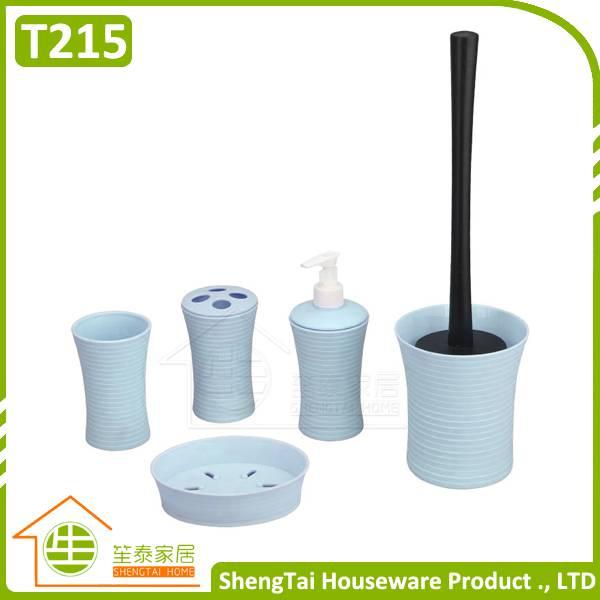 Bathroom Supplier Latest Design Round Shape Spiricle Bathroom Set Accessories