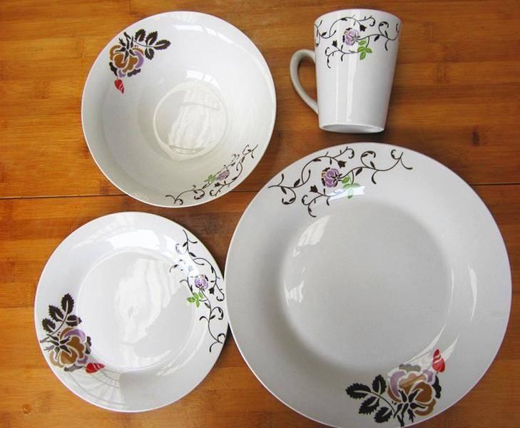 16pcs porcelain dinnerware set
