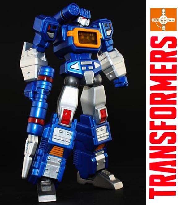 Transformers G1 Soundwave Revoltech Yamaguchi By Third Party Handmade Best Gift
