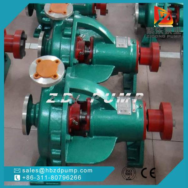 Single stage centrifugal chemical pump
