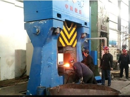 C88K-100 Programmable Control Fully Hydraulic Die Forging Hammer For Automobile Parts Precise Forgin