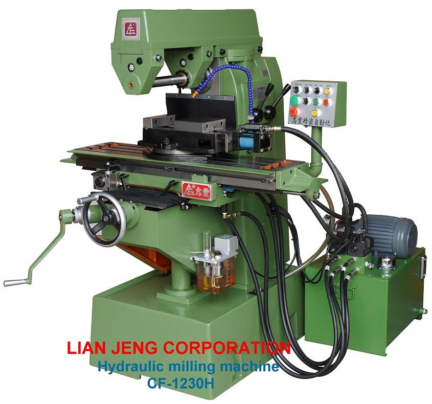 Hydraulic milling machine 1230H - LIAN JENG CORP.