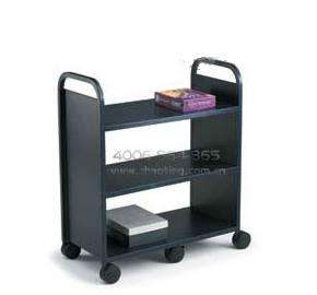 Three layers platform book cart RCA-3S-LIB09
