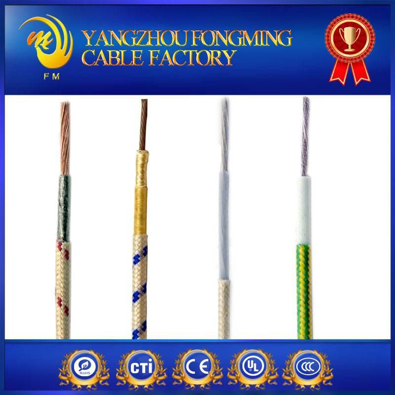 UL5170 Polyester yarn braided electric wire