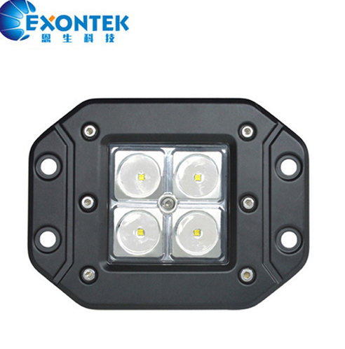 LED work light DRL Running Drving spot flood LED working light 16W CREES 4WD JEEP SUV