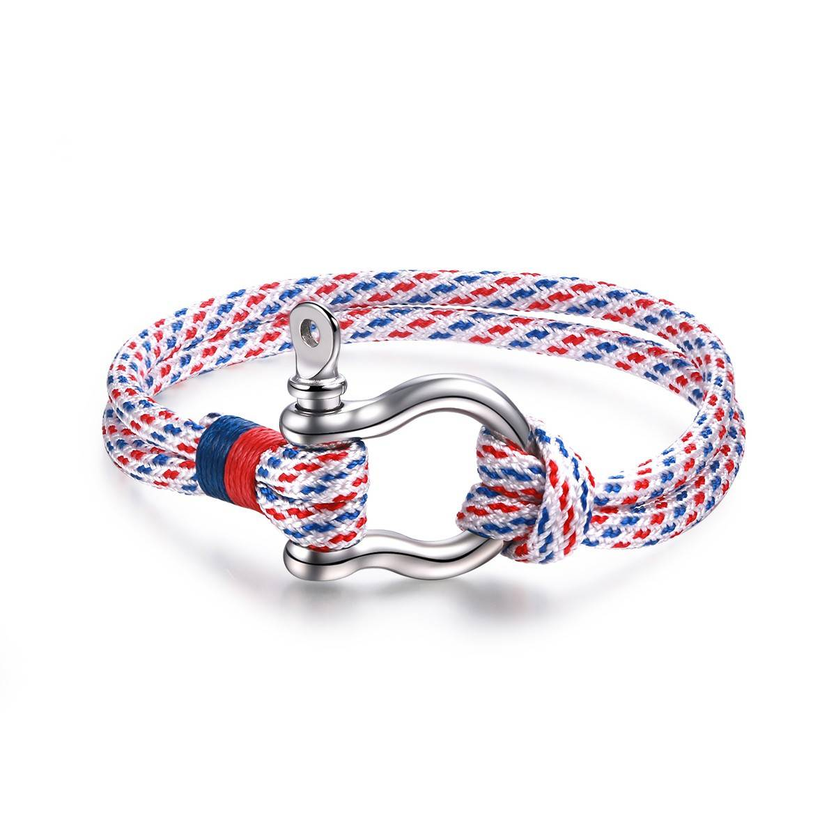 Hot Sale High Polished Women's Wrap Bracelets Daily Simple Clasp String Multicolor
