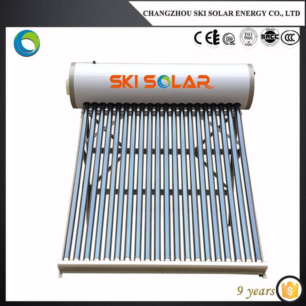 non pressure compact solar water heater