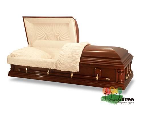 Wood Coffin Wood Casket Funeral Products