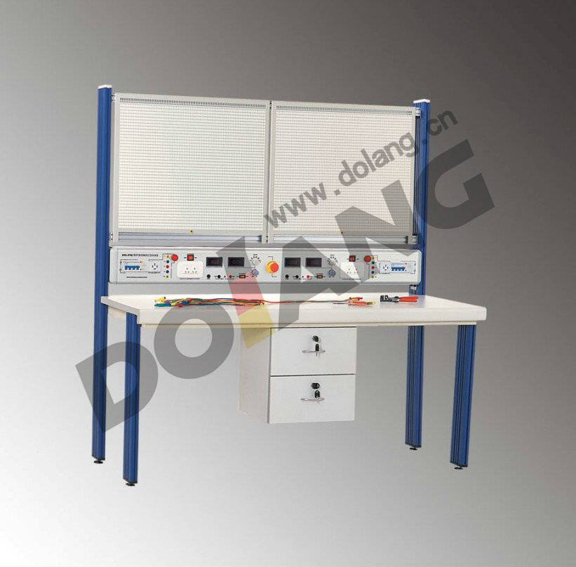DLWD-ETBE12D730 electrical skill training workbench