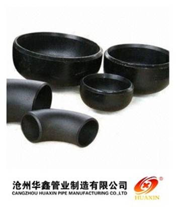 carbon pipe fittings sch40 elbow and tee