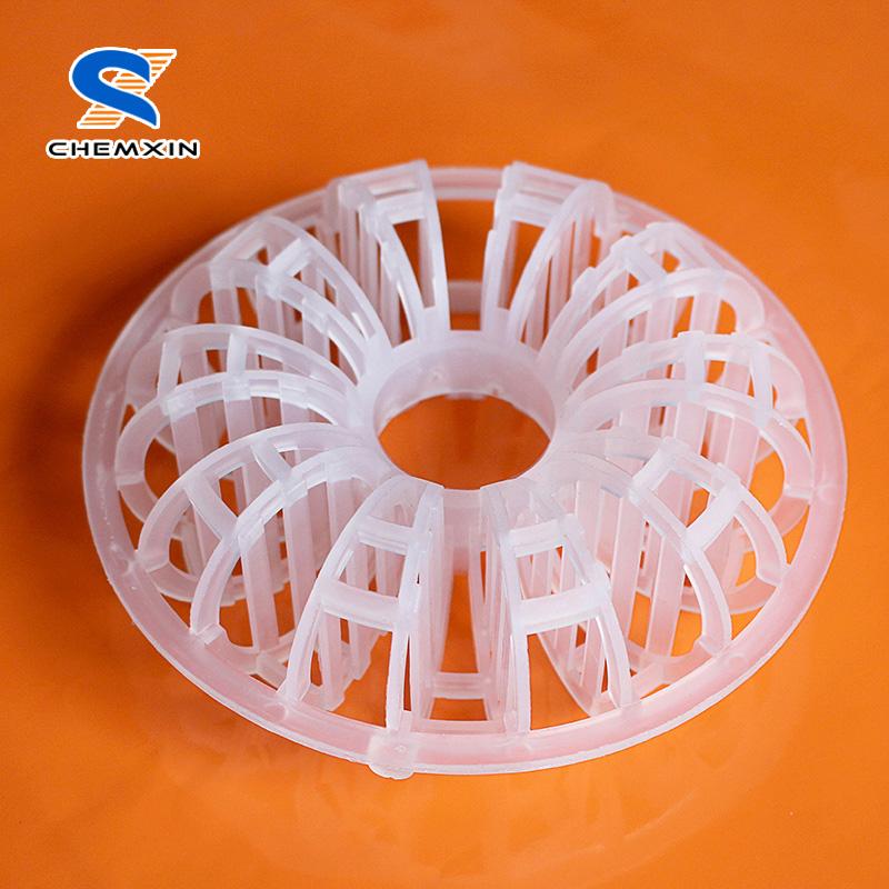 Plastic teller rosette ring for envorimental protection