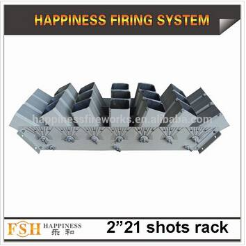 "2"" 21 shots aluminium alloy for fireworks display show"