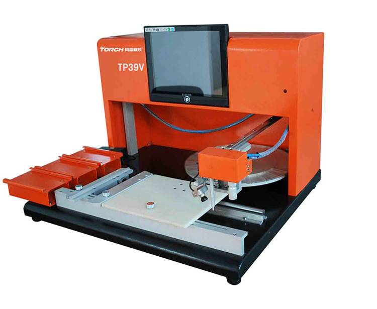 Manual pick and place machine / Small Desk Top Manual Chip Mounter  TP39V (Torch)
