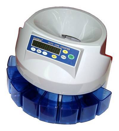 Golden-350 Automatic Coin Sorter Counter