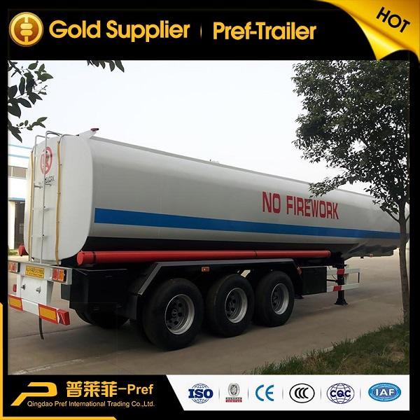 tri axle 40,000 liters fuel tanker trailer