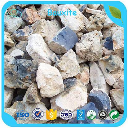 China Factory Supply High Alumina Kiln Bauxite Ore / Refractory Calcined Bauxite