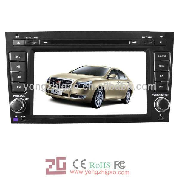 Special dvd car audio gps player for Emgrand EC8