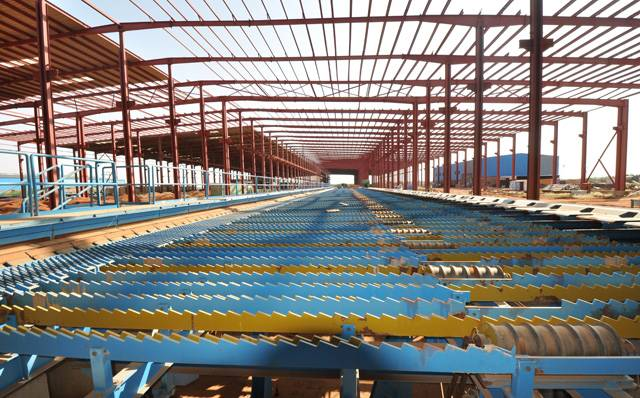 rebar production line/ Complete rebar rolling mill line