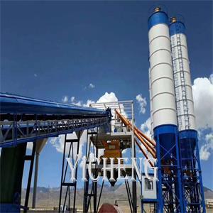 HZS concrete batching plant concrete mixing plant